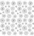 hand drawn succulent plant isolated vector image