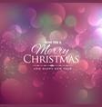 beautiful background for chrismas festival season vector image vector image
