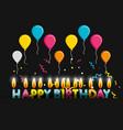 Birthday balloons helium decorative