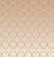 floral design beige seamless vector image