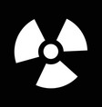ionizing radiation icon idesign vector image vector image