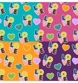 seamless pattern for Valentine S Day vector image vector image