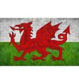 Flag of Wales vector image