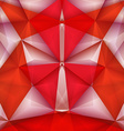 Abstract geometrical samurai vector image vector image