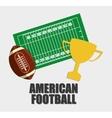 American Football sport design vector image vector image