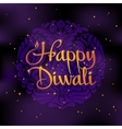 Beautiful greeting card for Hindu community Happy vector image vector image