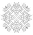 classical baroque orament vector image