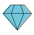 diamond luxury diamond vector image vector image