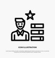 find job human resource magnifier personal line vector image vector image