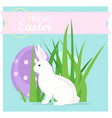 happy easter decoration vector image vector image