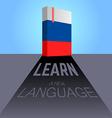 Learn language vector image