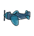toy airplane child vector image
