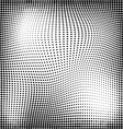 Abstract geometry seamless halftone pattern vector image vector image