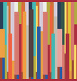 abstract striped geometric colorful vintage retro vector image vector image
