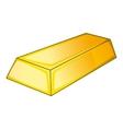 Gold icon cartoon style vector image vector image