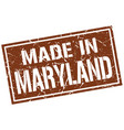made in maryland stamp vector image vector image