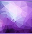 polygonal geometric violet background vector image vector image