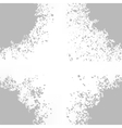Grey Blots on White Background vector image