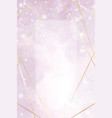 abstract dusty violet liquid watercolor background vector image vector image