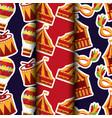 carnival amusement park vector image