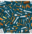 Construction and repair tools seamless wallpaper vector image vector image