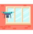 Drone spy vector image vector image