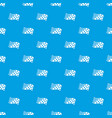 finish flag pattern seamless blue vector image