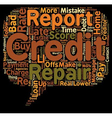 How to Repair Your Credit and Buy a Home text vector image