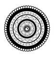 Mandala For Painting vector image vector image