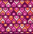 seamless abstract midcentury modern pattern vector image