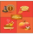 set of colorful cartoon elements for vector image