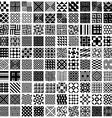 100 geometric seamless patterns set