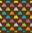 boat seamless pattern vector image
