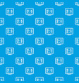 football scoreboard pattern seamless blue vector image vector image