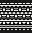 geometric seamless pattern with hexagon vector image vector image