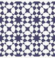 islamic mosaic seamless geometric pattern vector image vector image