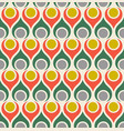 seamless abstract midcentury modern pattern vector image vector image