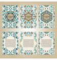 set of colorful brochure templates vector image vector image