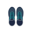 trekking boots isolated icon vector image vector image