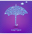 Umbrella with drops
