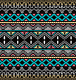 color native ethnic seamless pattern vector image