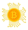 Digital Money Icon vector image vector image
