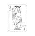 french playing cards related icon image vector image