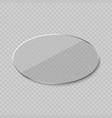 glare glass frame vector image