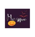 halloween 02 vector image vector image