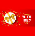 happy valentines day holiday r vector image