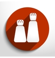 pepper shaker web icon vector image