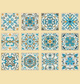 Set of portuguese tiles