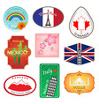 Travel Stickers Design Collection