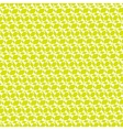 Yellow green ornamental geometric background vector image vector image
